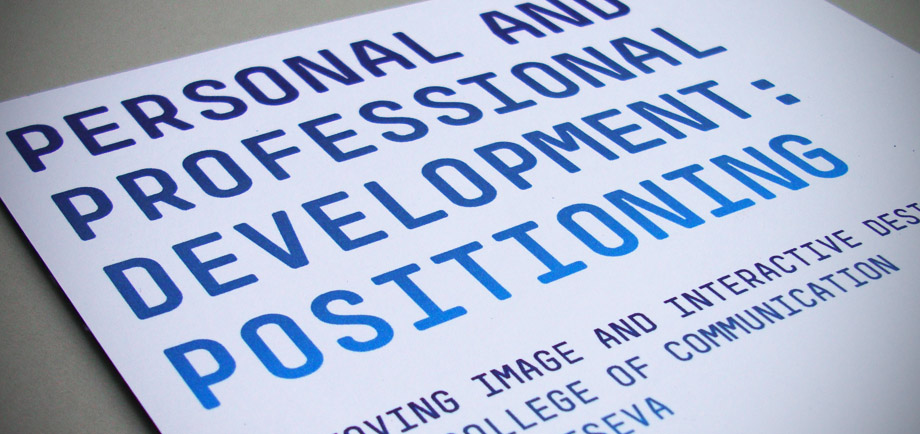 Personal and Professional Development Report [1]